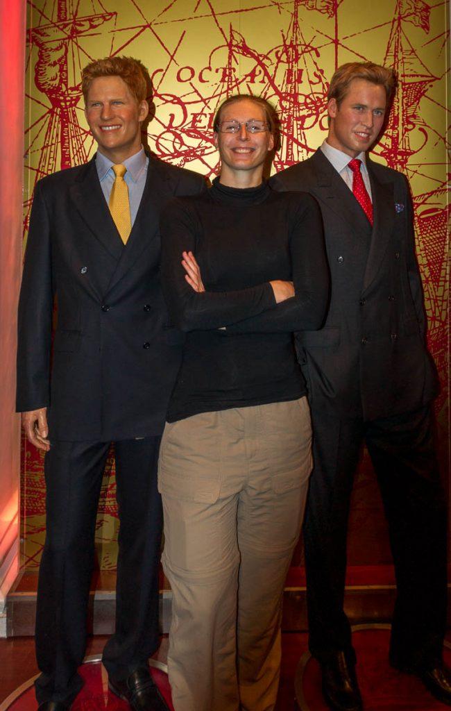 The Prince and me,Madame Tussauds, Londen, Engeland, Verenigd Koninkrijk (2010)