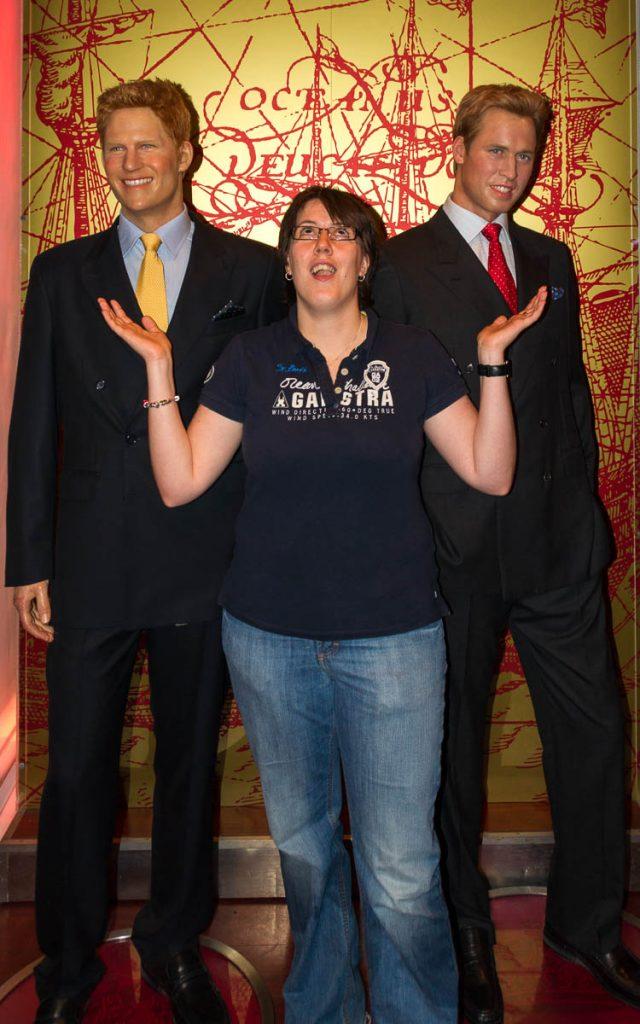 My dreams came true!,Madame Tussauds, Londen, Engeland, Verenigd Koninkrijk (2010)