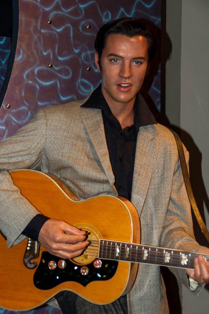 Elvis,Madame Tussauds, Londen, Engeland, Verenigd Koninkrijk (2010)