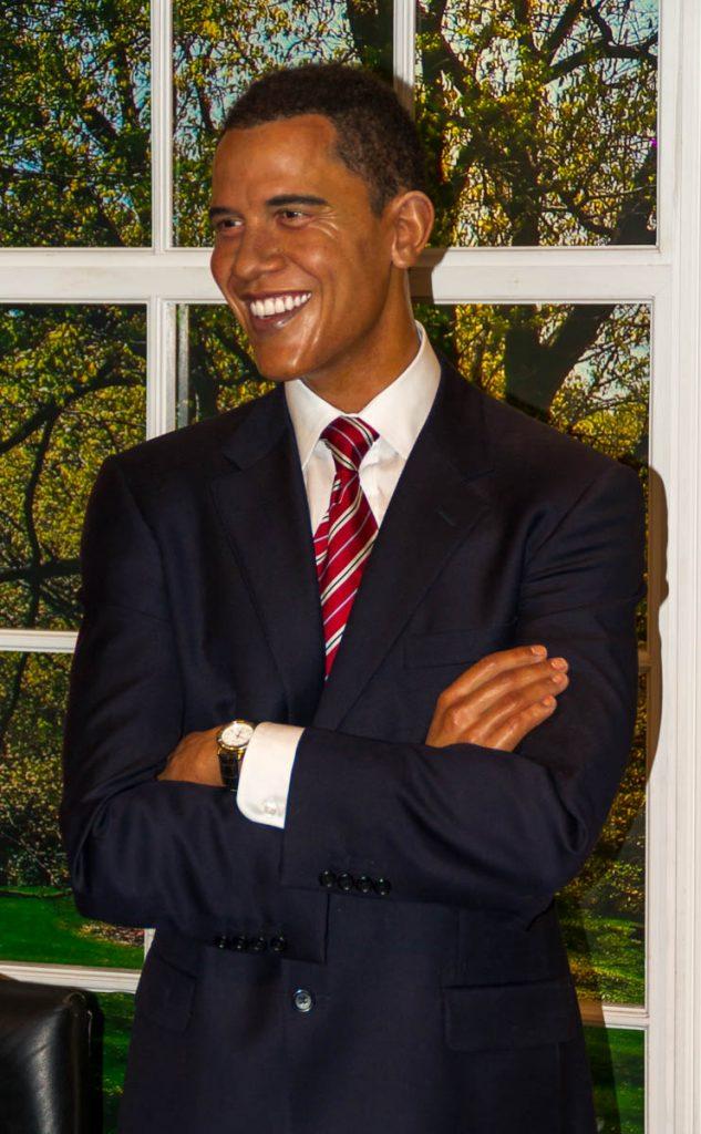 President Obama,Madame Tussauds, Londen, Engeland, Verenigd Koninkrijk (2010)
