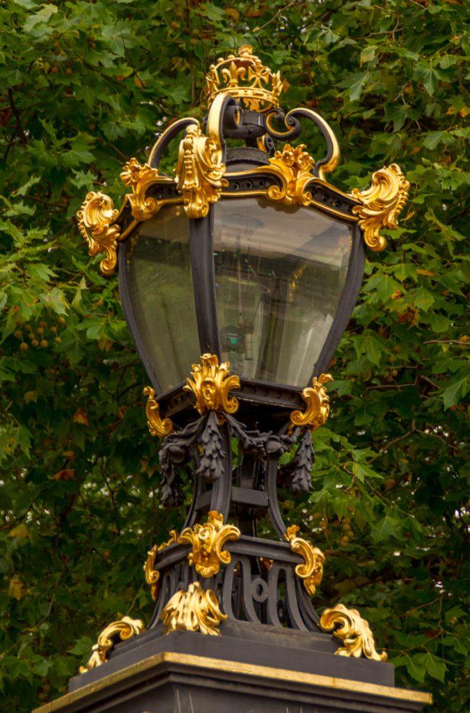 Lantaarn,Buckingham Palace, Londen, Engeland, Verenigd Koninkrijk (2010)