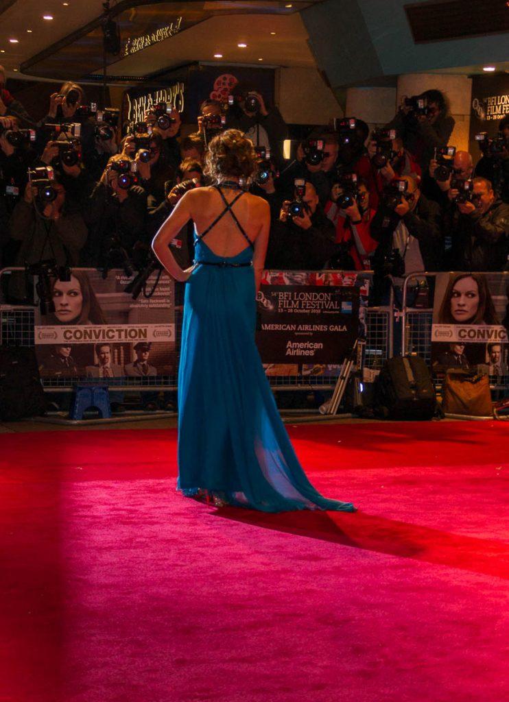 Minnie Driver,Leicester Square, Londen, Engeland, Verenigd Koninkrijk (2010)