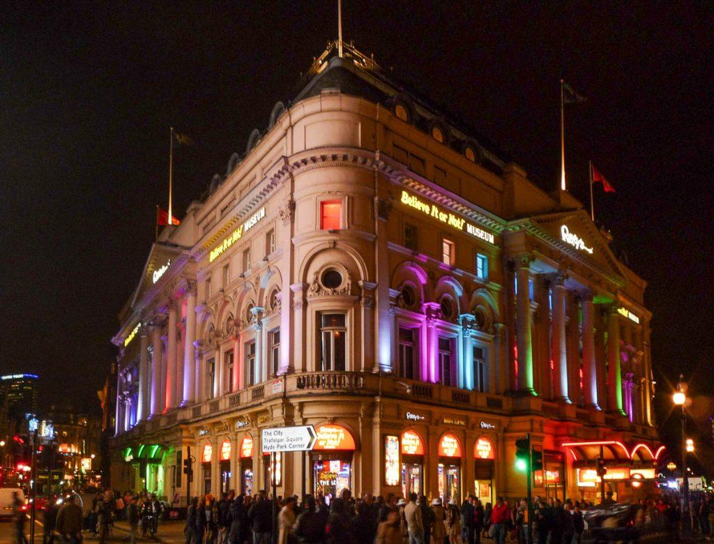 Ripley's,Piccadilly Circus, Londen, Engeland, Verenigd Koninkrijk (2010)