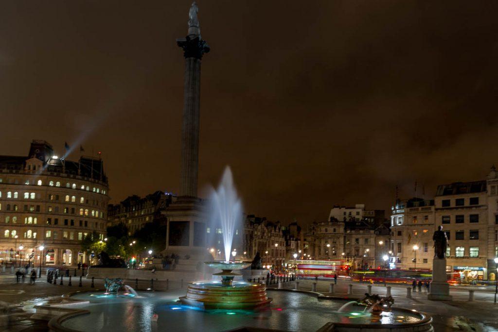 Trafalgar Square,Trafalgar Square, Londen, Engeland, Verenigd Koninkrijk (2010)