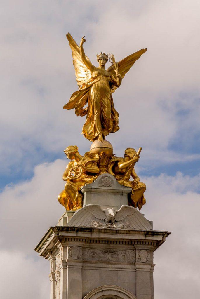 Victoria Memorial,Buckingham Palace, Londen, Engeland, Verenigd Koninkrijk (2010)