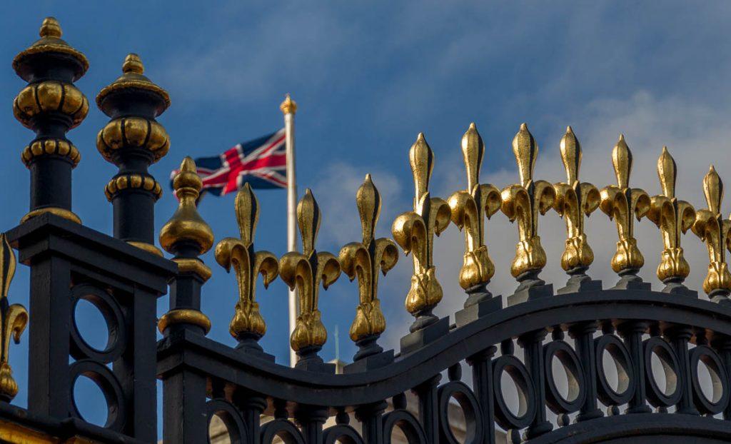 Hek,Buckingham Palace, Londen, Engeland, Verenigd Koninkrijk (2010)