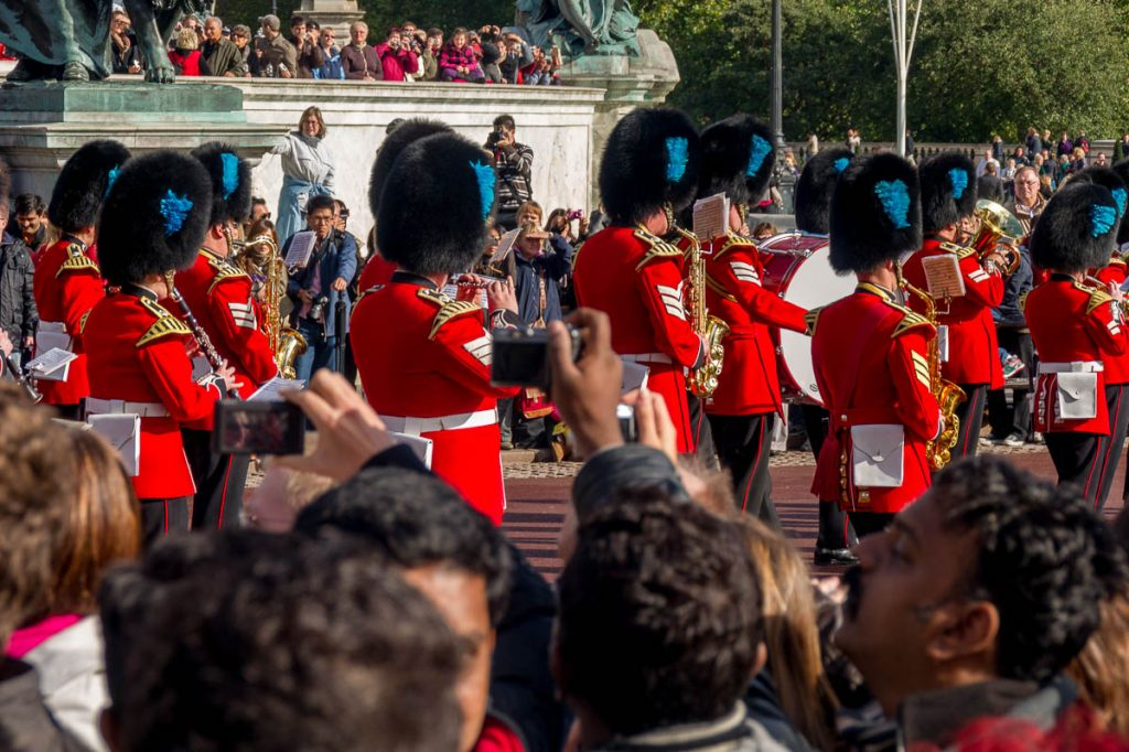 Changing of the Guards,Buckingham Palace, Londen, Engeland, Verenigd Koninkrijk (2010)