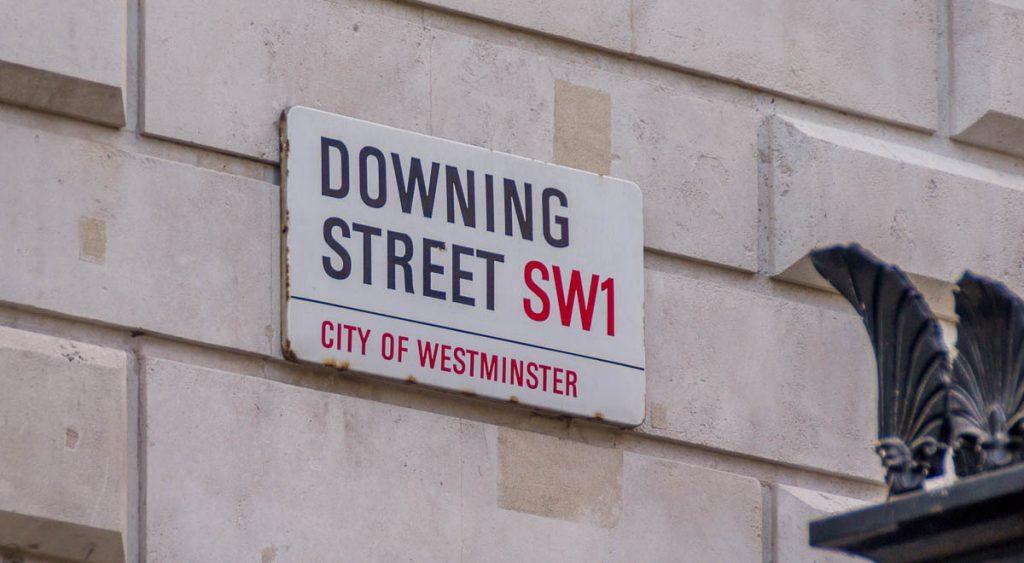 Downing Street,Londen, Engeland, Verenigd Koninkrijk (2010)