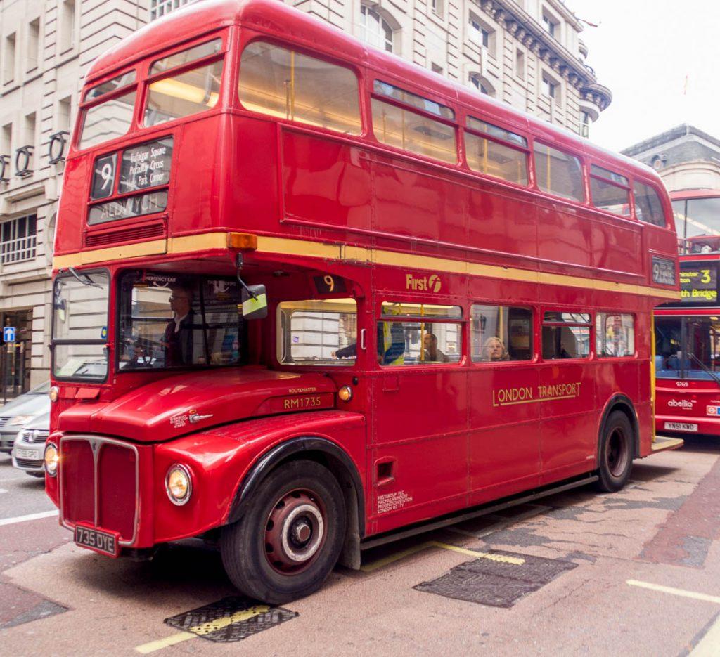 London bus,Londen, Engeland, Verenigd Koninkrijk (2010)
