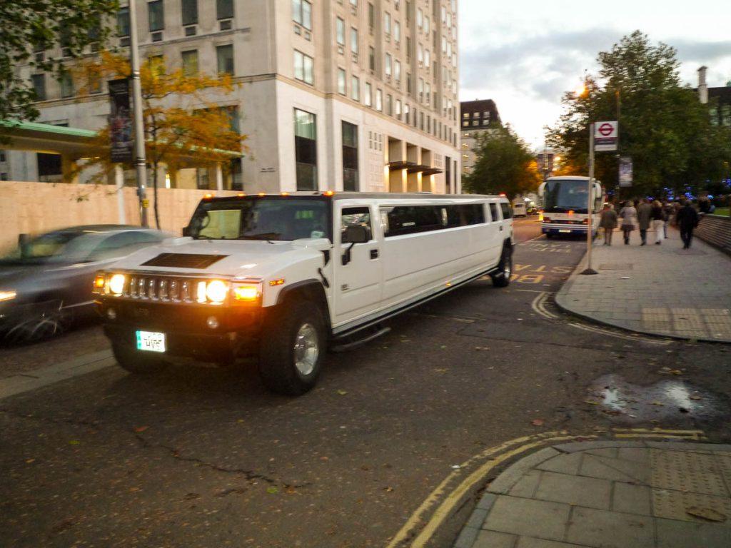 Daar is onze limo,Londen, Engeland, Verenigd Koninkrijk (2010)