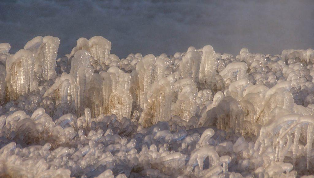 Bevroren nevel,Gullfoss, Zuid IJsland, IJsland (2010)