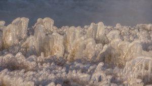 Bevroren waterdamp