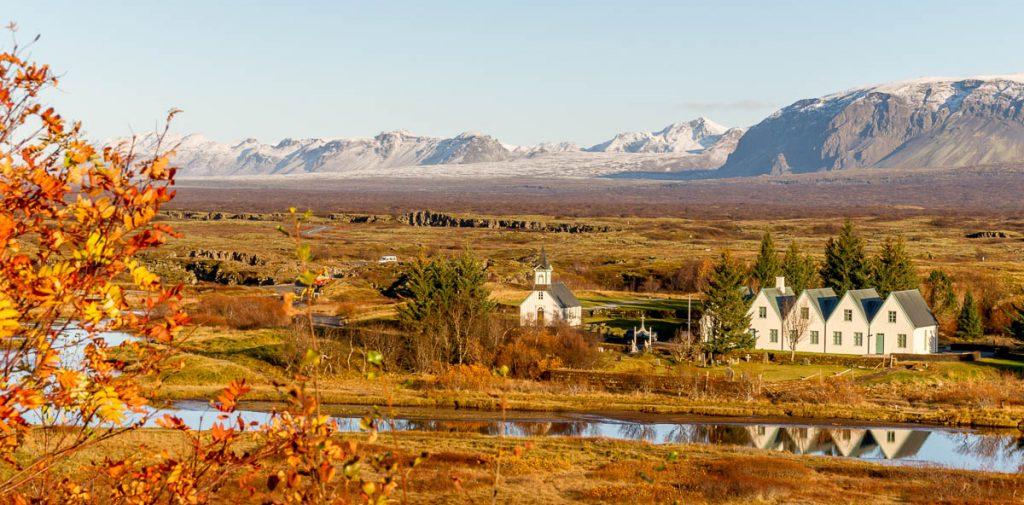 Þingvallakirkja,Þingvellir National Park, Zuid IJsland, IJsland (2010)