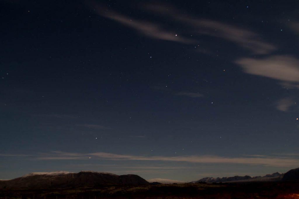 Helaas geen noorderlicht,Þingvellir National Park, Zuid IJsland, IJsland (2010)
