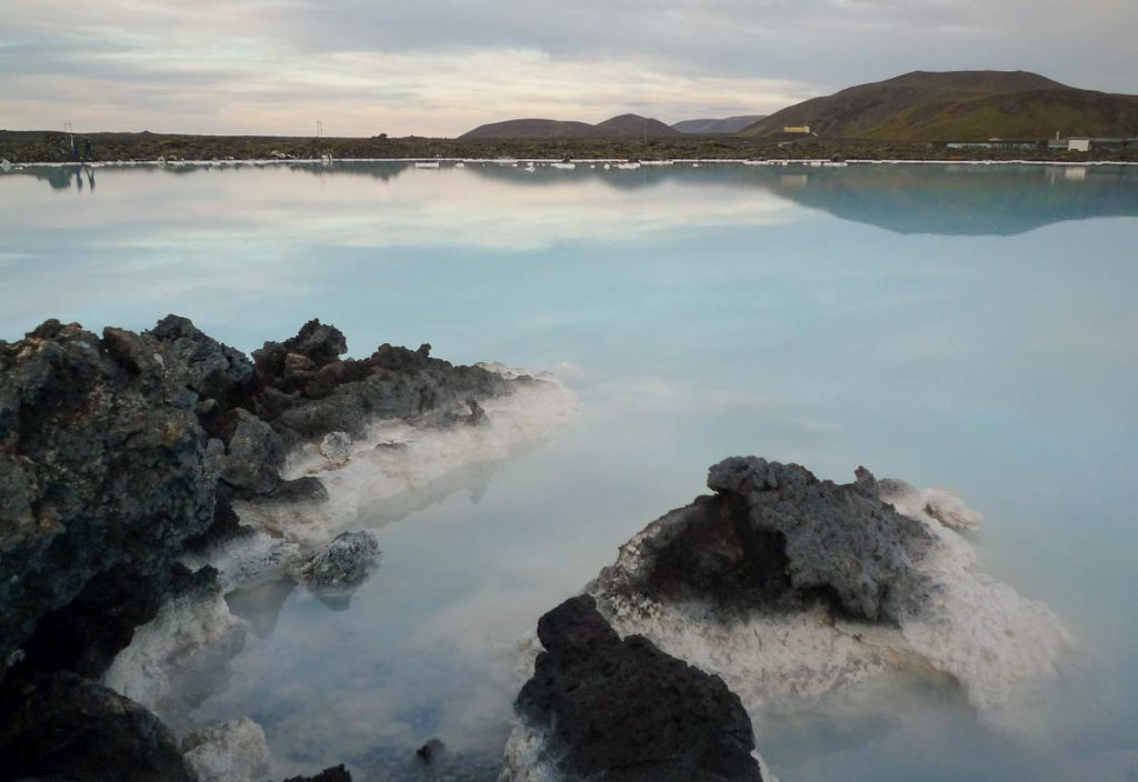 Geothermisch water,Blue Lagoon, Zuidelijk schiereiland, IJsland (2010)