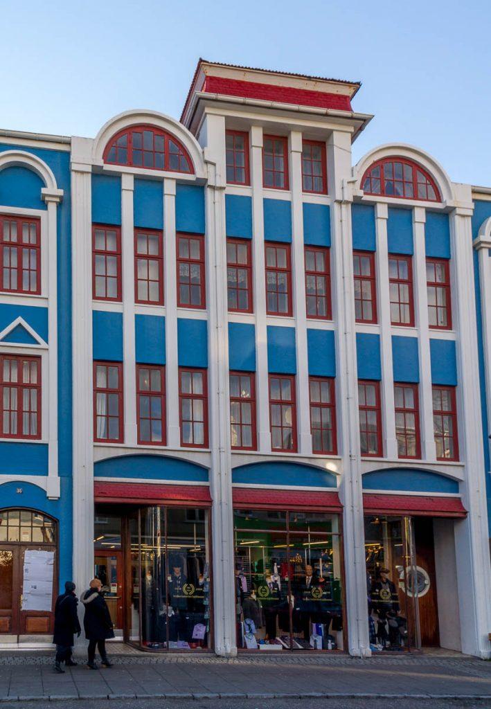 Kleurrijk Reykjavík,Reykjavík, Hoofdstedelijke Regio, IJsland (2010)