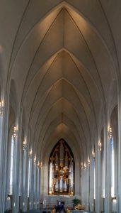 Het orgel is de grootste in IJsland