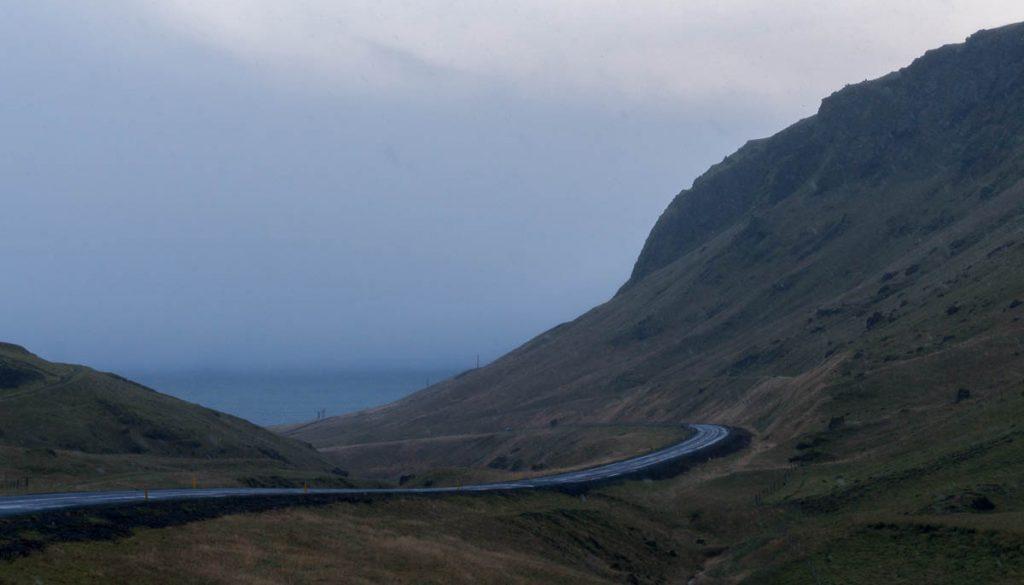 Grim landschap,Hringvegur, Zuid IJsland, IJsland (2010)
