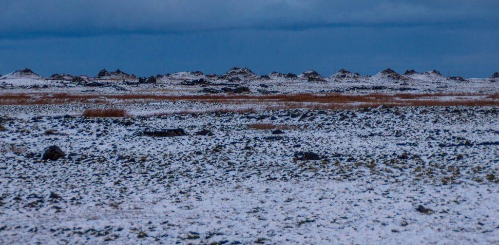 Sneeuw,Hringvegur, Zuid IJsland, IJsland (2010)
