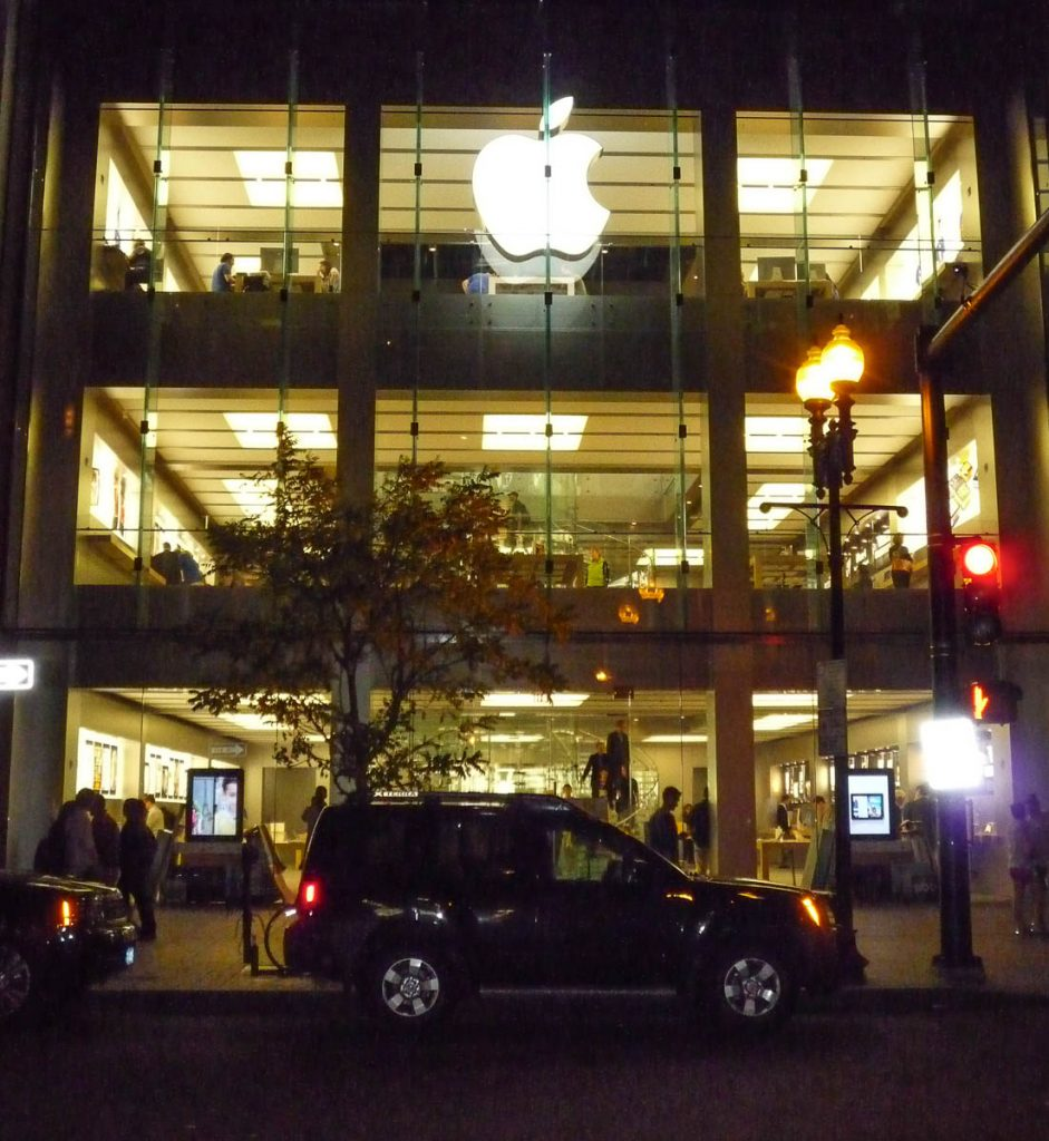 Apple Store Boston,Boston, Massachussetts, Verenigde Staten (2010)