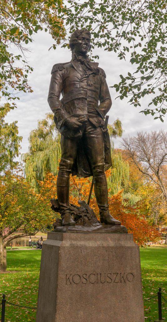 Tadeusz Kosciusko,Boston Public Garden, Boston, Massachussetts, Verenigde Staten (2010)