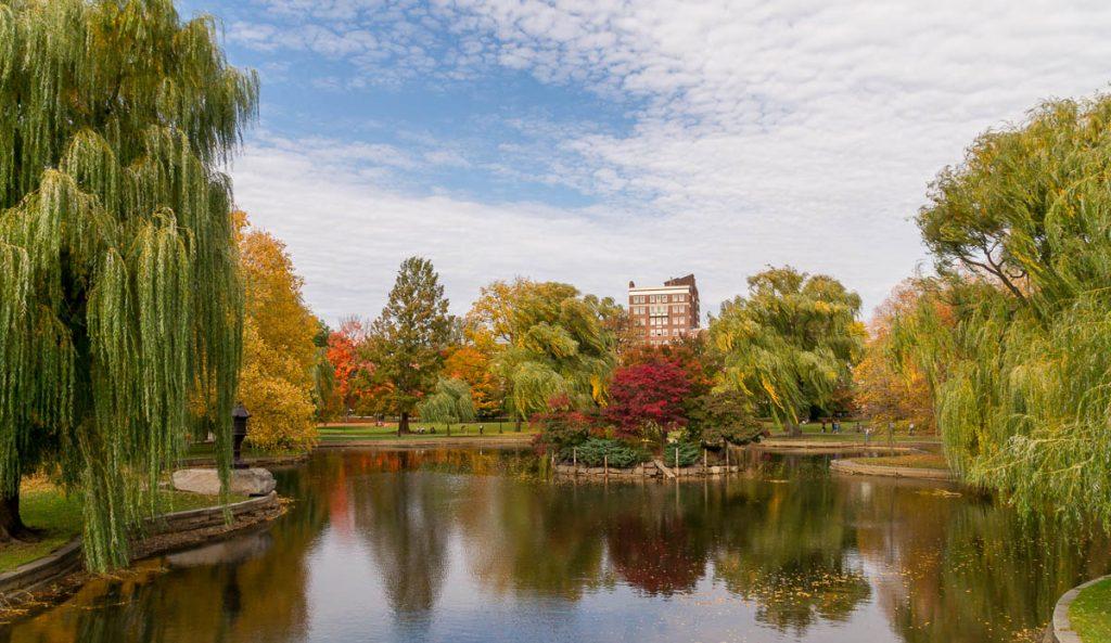 The Lagoon,Boston Public Garden, Boston, Massachussetts, Verenigde Staten (2010)