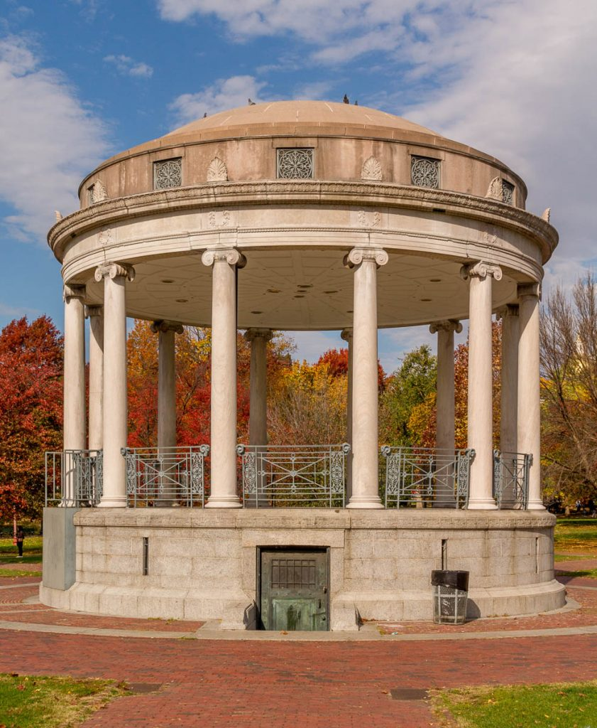 Parkman Bandstand,Boston Common, Boston, Massachussetts, Verenigde Staten (2010)