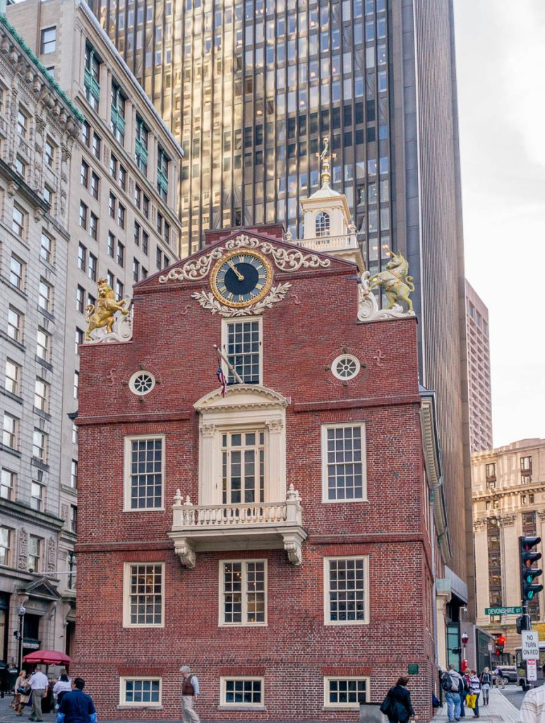 Old State House,Boston, Massachussetts, Verenigde Staten (2010)