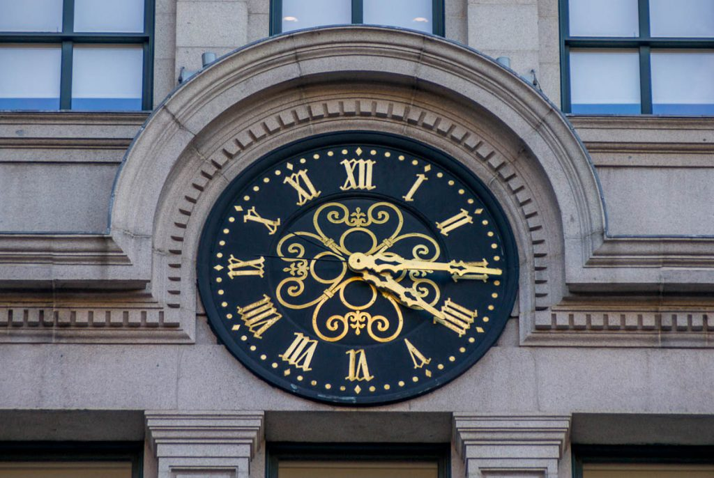 Courthouse Clock,Boston, Massachussetts, Verenigde Staten (2010)