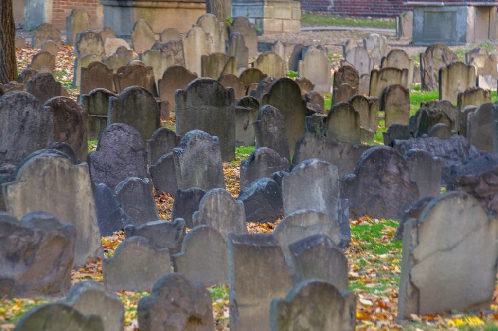 Geschiedenis,Granary Burying Ground, Boston, Massachussetts, Verenigde Staten (2010)
