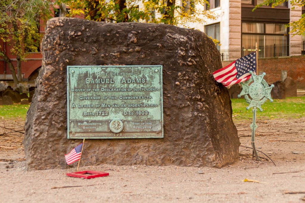 Samuel Adams,Granary Burying Ground, Boston, Massachussetts, Verenigde Staten (2010)