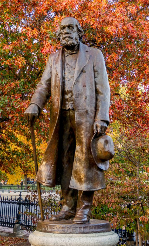 Edward Everett Hale,Boston Public Garden, Boston, Massachussetts, Verenigde Staten (2010)