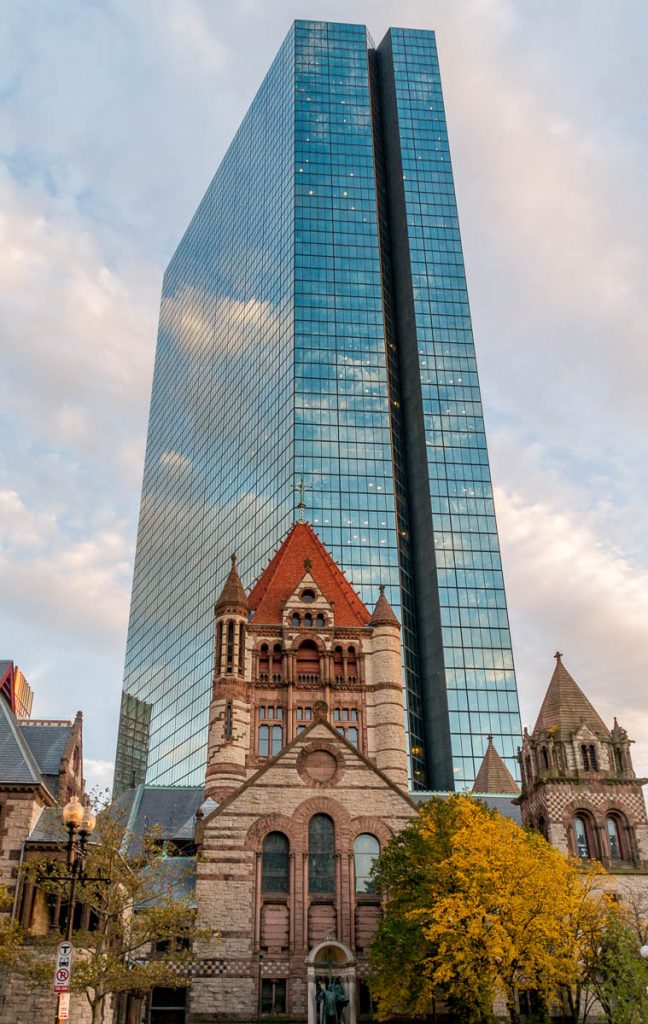 Oud & nieuw,Trinity Church, Boston, Massachussetts, Verenigde Staten (2010)