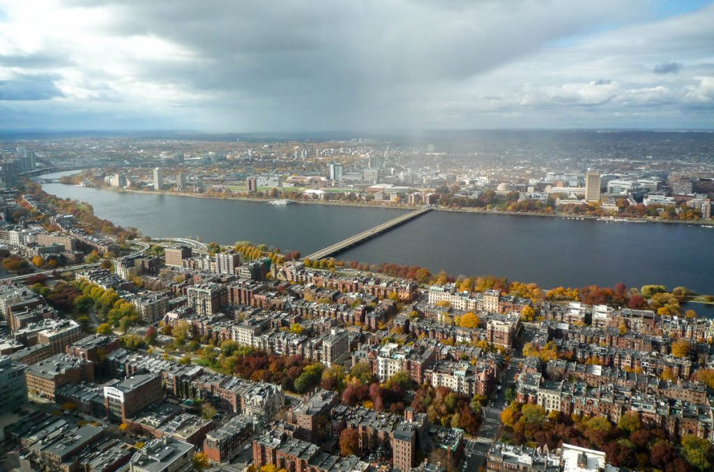 Charles River Basin,Prudential Tower, Boston, Massachussetts, Verenigde Staten (2010)