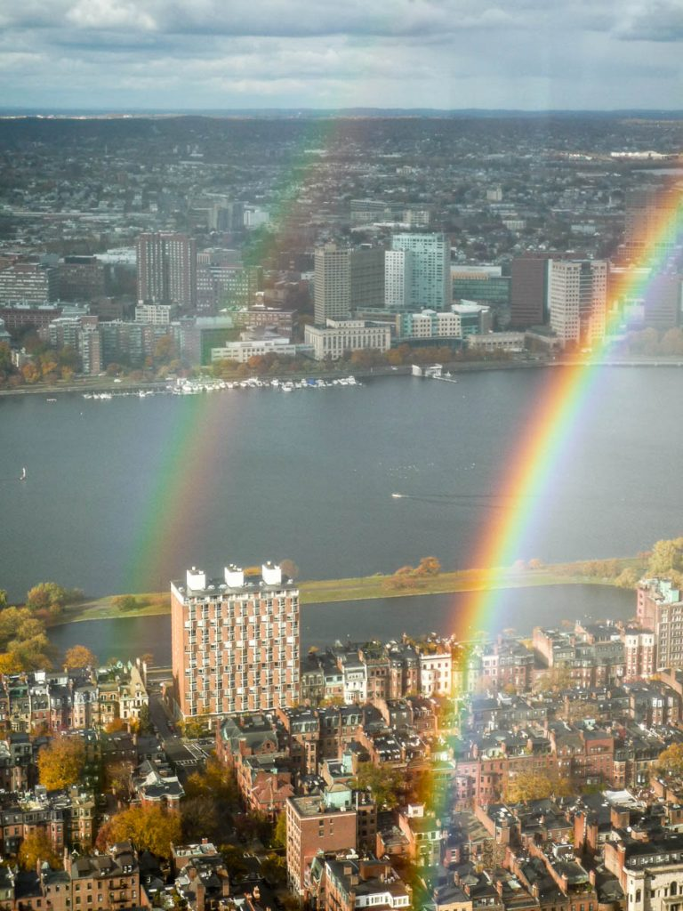 Regenboog,Prudential Tower, Boston, Massachussetts, Verenigde Staten (2010)