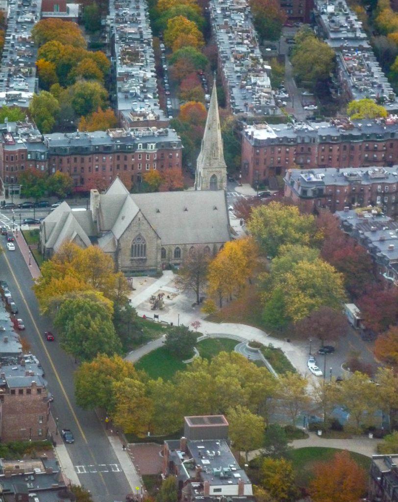 Union United Methodist Church,Prudential Tower, Boston, Massachussetts, Verenigde Staten (2010)