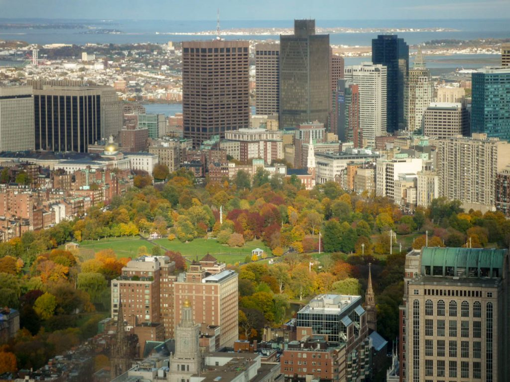 Boston Common,Prudential Tower, Boston, Massachussetts, Verenigde Staten (2010)