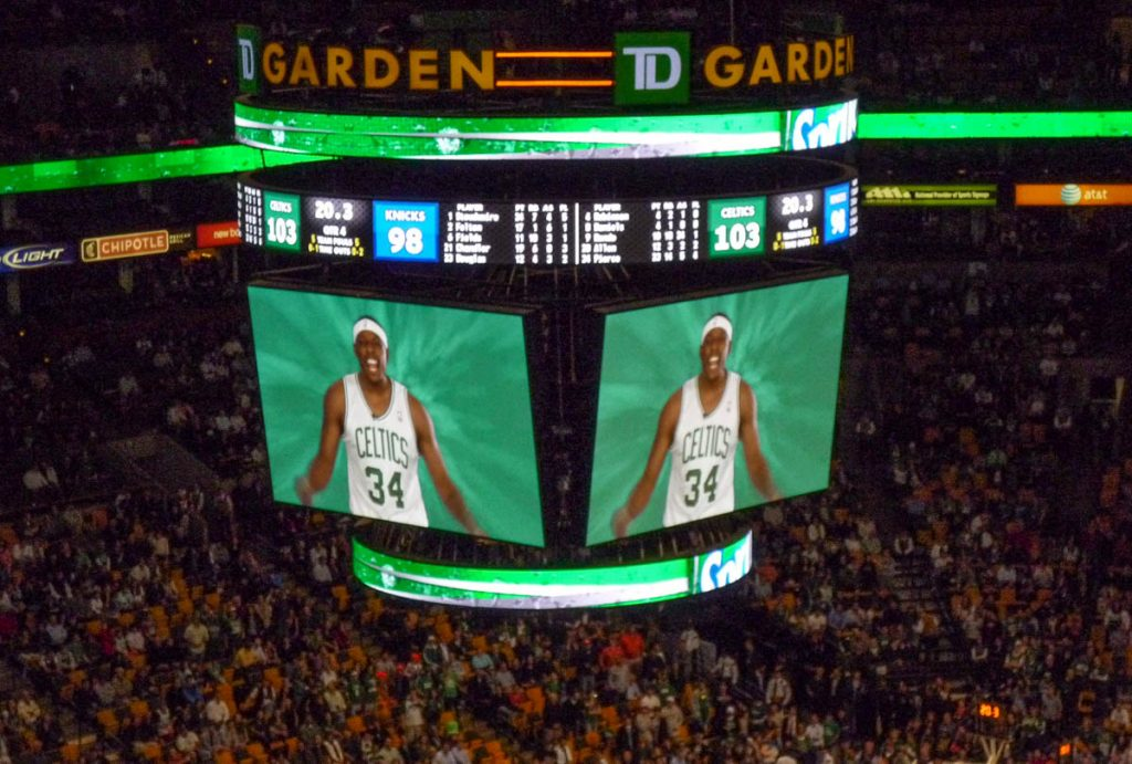 Paul Pierce,TD Garden, Boston, Massachussetts, Verenigde Staten (2010)