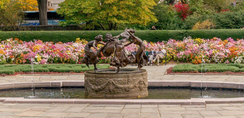 Untermyer Fountain,Central Park, New York, New York, Verenigde Staten (2010)
