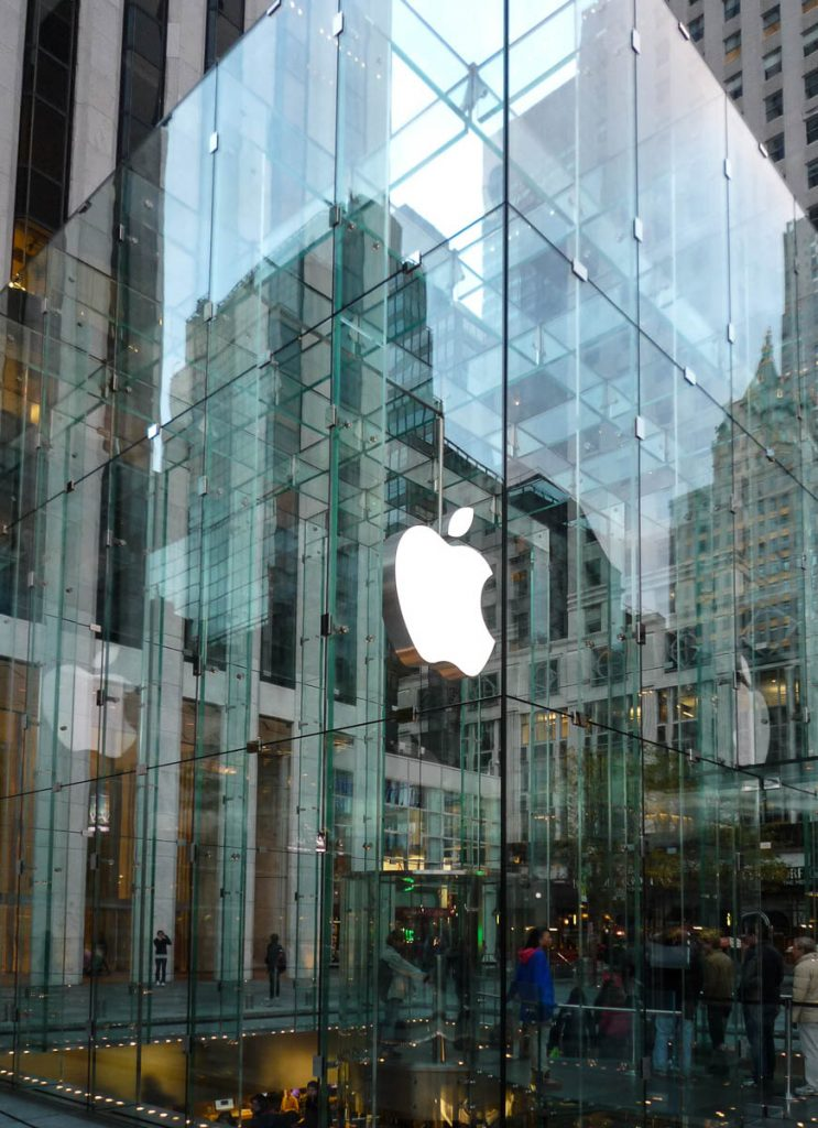 Apple Store,5th Avenue, New York, New York, Verenigde Staten (2010)