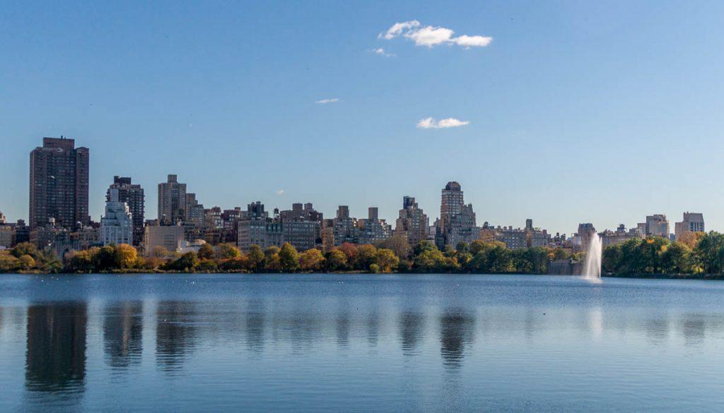 Jacqueline Kennedy Onassis Reservoir,Central Park, New York, New York, Verenigde Staten (2010)