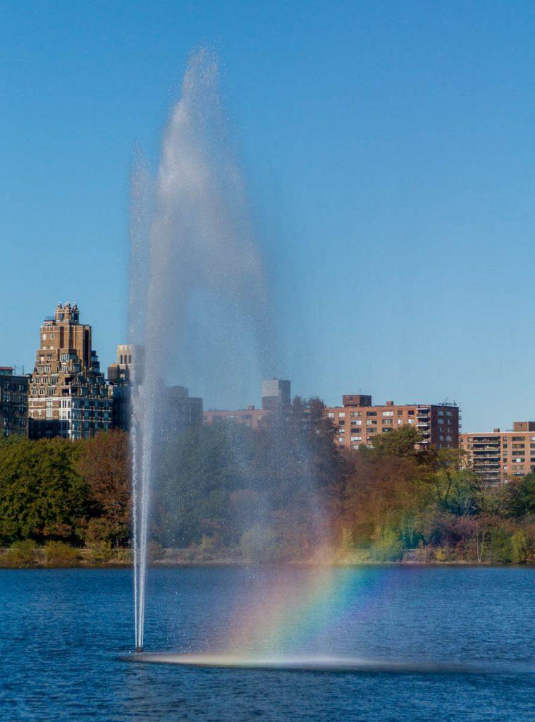 Fontein,Central Park, New York, New York, Verenigde Staten (2010)