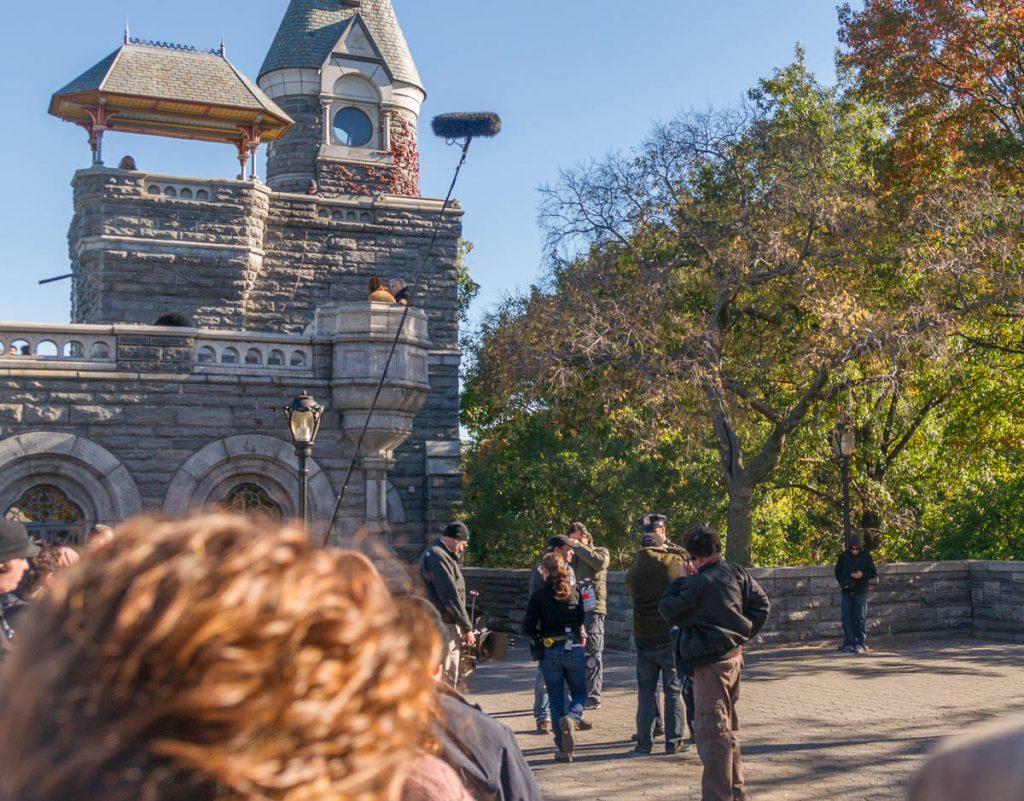 Film crew,Central Park, New York, New York, Verenigde Staten (2010)