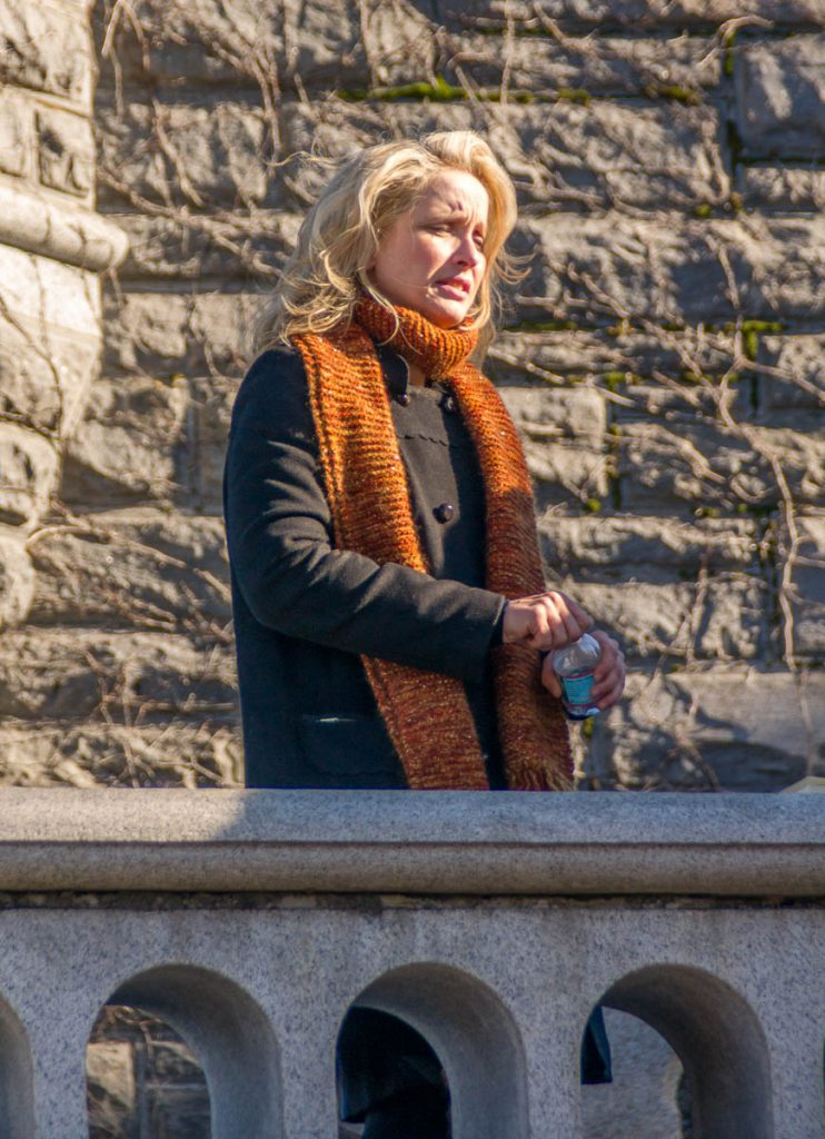 Julie Delphy,Central Park, New York, New York, Verenigde Staten (2010)