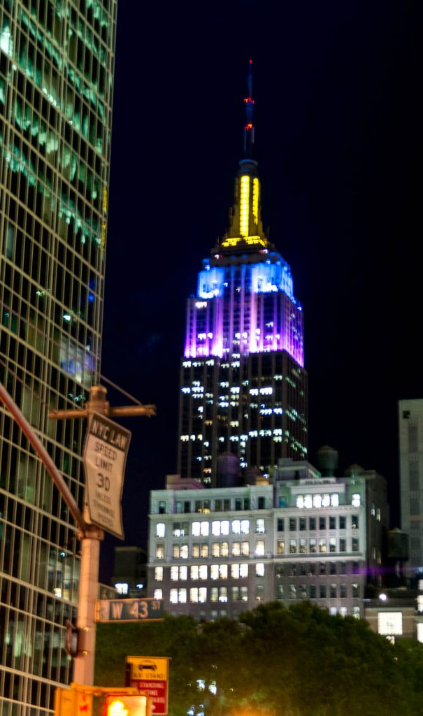 Empire State Building,6th Avenue, New York, New York, Verenigde Staten (2010)