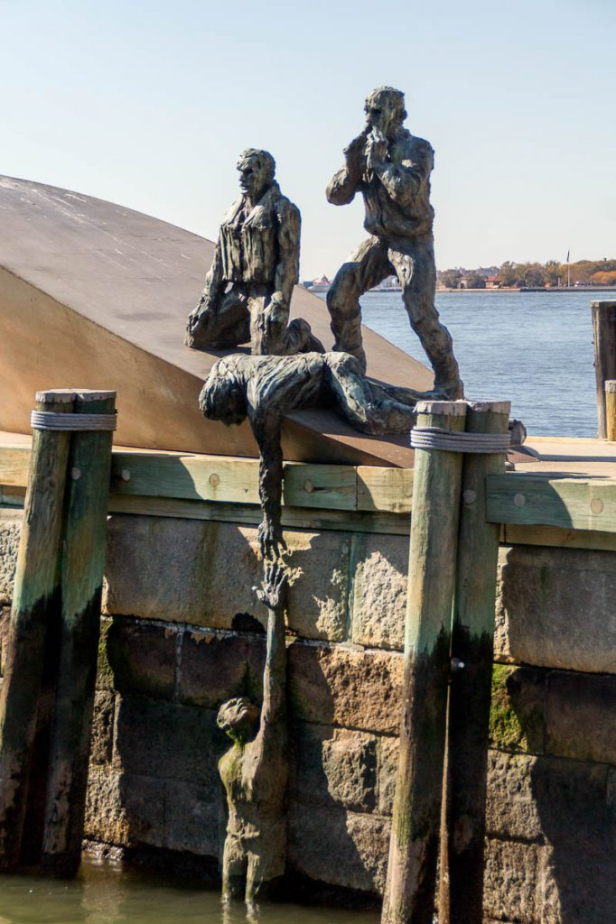 American Merchant Mariners' Memorial,Battery Park, New York, New York, Verenigde Staten (2010)