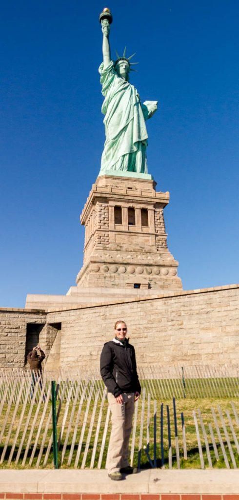 Vrijheidsbeeld,Liberty Island, New York, New York, Verenigde Staten (2010)