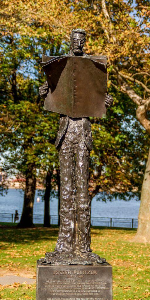 Josheph Pulitzer,Liberty Island, New York, New York, Verenigde Staten (2010)