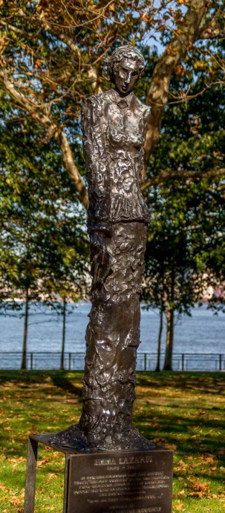Emma Lazarus,Liberty Island, New York, New York, Verenigde Staten (2010)