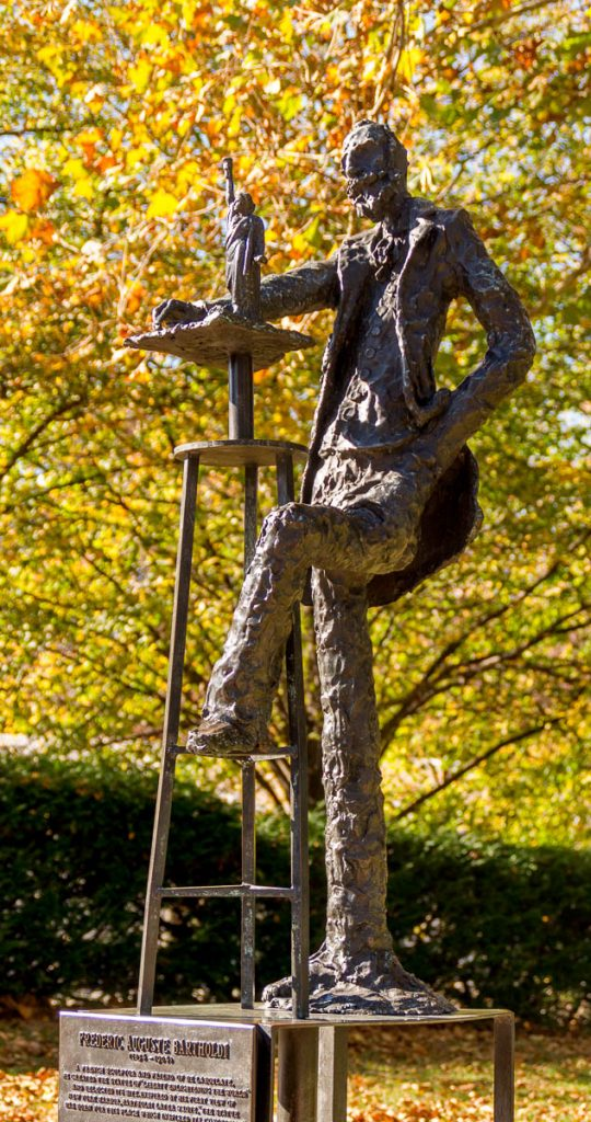 Frédéric Bartholdi,Liberty Island, New York, New York, Verenigde Staten (2010)